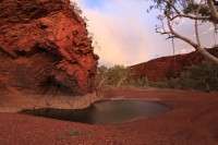 Kalgan Pool   Sunset over Kalgan Pool