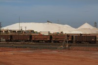 Salt mining and its transportation