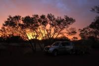 Sunset   Karijini national park