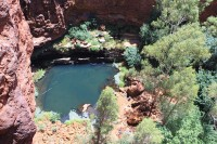 Circural pool | Karijini national park, Pilbara region