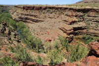 River valley of Karijini national park