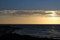 Twilight over the see   Near Denham
