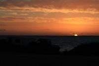 Sunset over the see   Near Denham