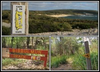 Traks in Australia   Cape to Cape - 135 km of coastal scenery, Bibulmun - long distance walk trail - 1,003.1 kilometres (623.3 mil) long.