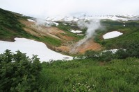 Small valley of geysers | Near Mutnovskij Volcano
