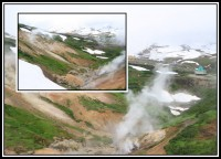 Small valley of geysers | Mutnovskij Volcano