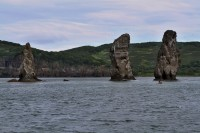The Three Brothers Rock | In the Avacha Bay, Kronotsky Nature Reserve