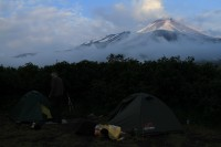 Avachinskaja Volcano | Our camsite in the evening