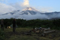 Avachinskaja Volcano | View from our campsite