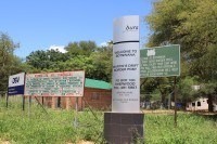 Border | Border from South Africa to Botswana