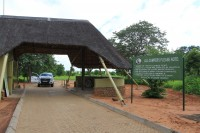 Gate to Ihaha campsite | National Park CHobe
