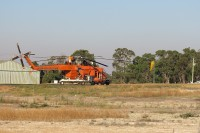 Helicopter   Transportation of water to the fire