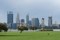 Perth city   High-rise buildings in the city center