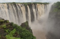 The main waterfall | Zimbabwe, Victoria falls