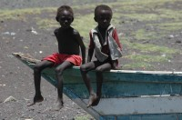 Turkana children