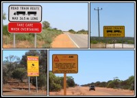 Trafic signs